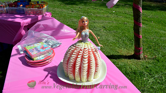 Barbie Cake will light up your girls face Shell love it